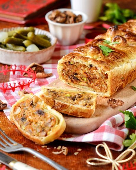 recette terrine végétarienne réveillon Noel cuisine maison menu sans viande