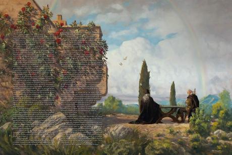 The Witcher illustré : Le Moindre Mal de Andrzej Sapkowski & Ugo Pinson