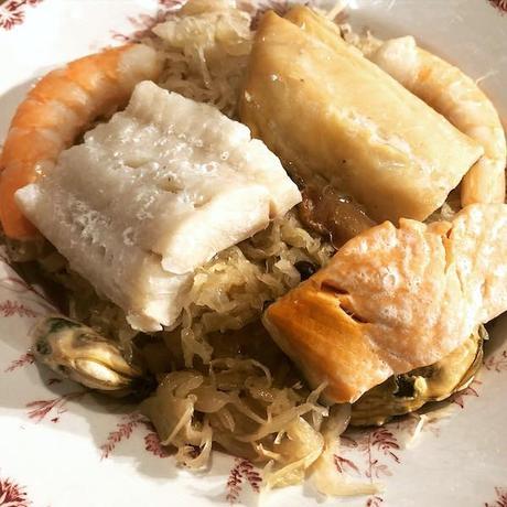 choucroute de la mer ou choucroute de poissons
