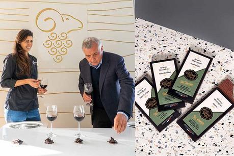 Pour Noël, osez l'accord chocolat et vin par Mouton Cadet & Hasnaâ Ferreira