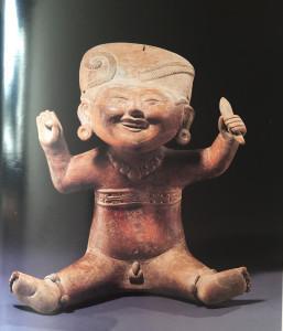 Les tètes  souriantes de la région de Veracruz au Mexique