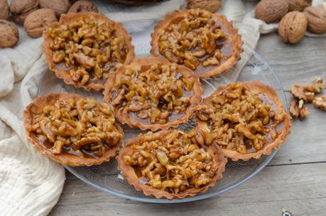 Tartelettes aux noix du Périgord