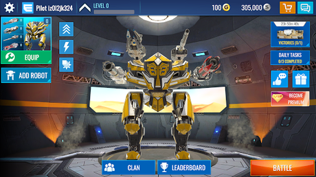 Télécharger Gratuit Mech Wars: Multiplayer Robots Battle  APK MOD (Astuce) 1