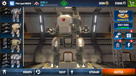 Télécharger Gratuit Mech Wars: Multiplayer Robots Battle  APK MOD (Astuce) 6