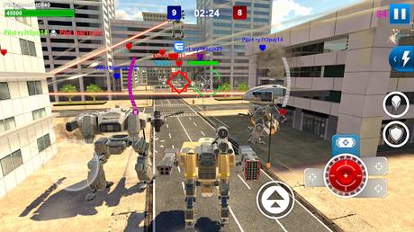 Télécharger Gratuit Mech Wars: Multiplayer Robots Battle  APK MOD (Astuce) 5