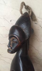 Changement de lieux   – La Côte d'Ivoire – les poulies Baoulé-