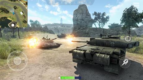 Télécharger Gratuit War of Tanks: PvP Blitz  APK MOD (Astuce) 6