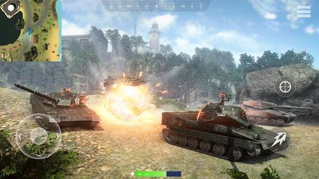 Télécharger Gratuit War of Tanks: PvP Blitz  APK MOD (Astuce) 2