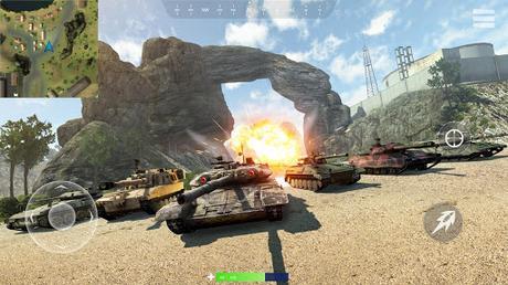 Télécharger Gratuit War of Tanks: PvP Blitz  APK MOD (Astuce) 4