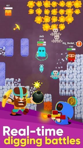 Télécharger Gratuit Dig Bombers: battle bomber arena PvP multiplayer  APK MOD (Astuce) 1