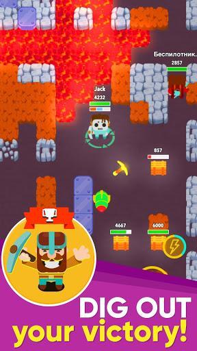 Télécharger Gratuit Dig Bombers: battle bomber arena PvP multiplayer  APK MOD (Astuce) 6