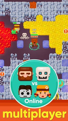Télécharger Gratuit Dig Bombers: battle bomber arena PvP multiplayer  APK MOD (Astuce) 2