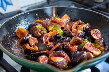 Dessert d'automne – Flognarde aux figues (sans œufs)