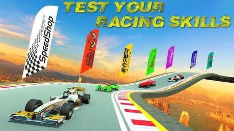 Télécharger Formula 1 Top Speed Sport Car Race APK MOD (Astuce) 2