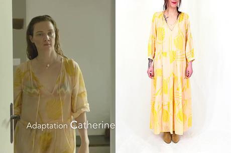 IL EST ELLE : la robe jaune de Sabine au début de la partie 1