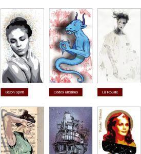 Galerie Roussard à Montmartre – Le jeu de Cartes du Street Art au profit du TELETHON