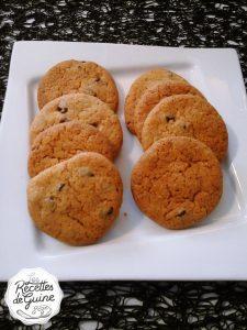 Recette de cookies au pralin pour un bon goûter.