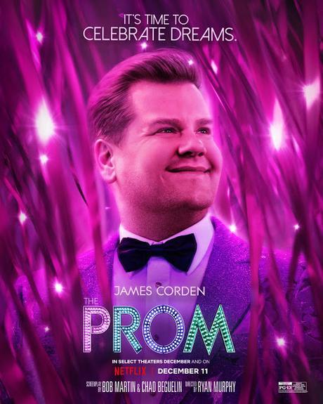 Affiches personnages US pour The Prom de Ryan Murphy