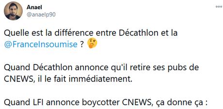 Présence coupable de #LFI sur #CNews