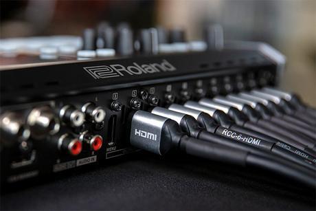 Roland V-8HD : un mélangeur vidéo HDMI 8 sources pour tous vos événements live