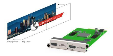 tvONE augmente à nouveau les fonctionnalités des processeurs vidéo  CORIOmaster
