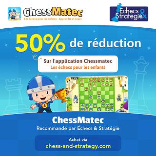 Jouer aux échecs avec l'appli Chessmatec