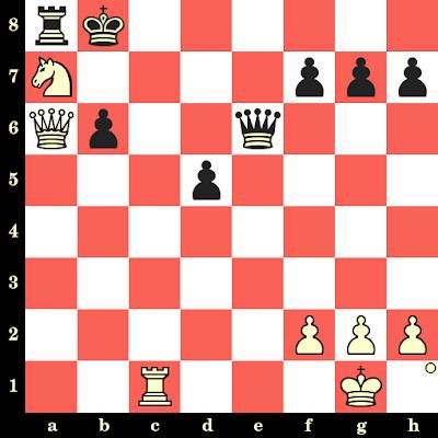 Les Blancs jouent et matent en 4 coups - Albert Becker vs Eduard Glass, Vienne, 1928