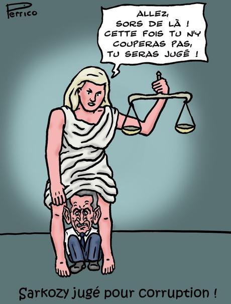 le jugement de Sarkozy