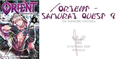 Orient – Samurai quest #4 • Shinobu Ohtaka