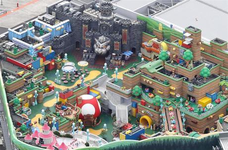 L'intérieur du premier Super Nintendo World se dévoile