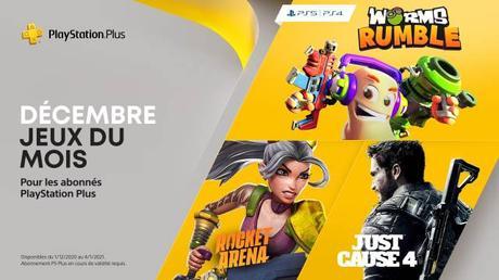 Jeux PSN offert en décembre 2020