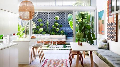 Visite privée : S'inspirer d'une maison arty et colorée