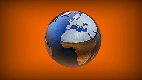Modèle 3D, Monde, Terre, Géographie, Éducation, Globe