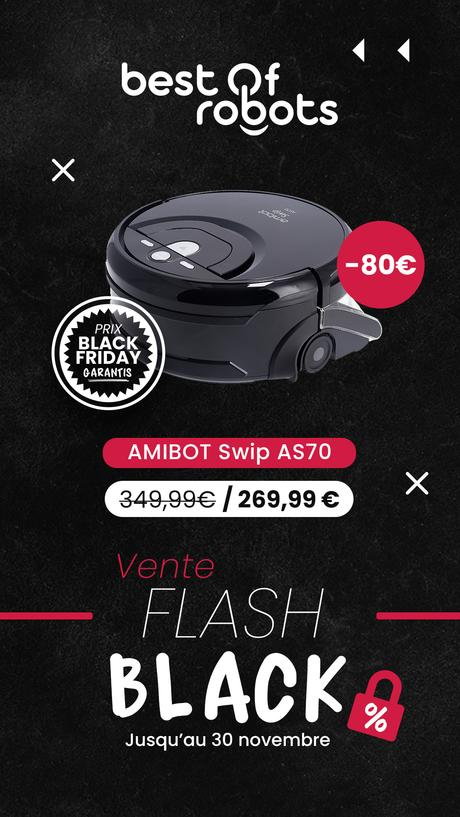 Vente flash Black jusqu'au 30 novembre