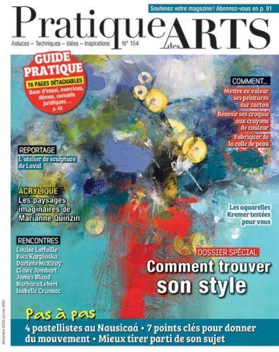 Pratique des Arts n° 154