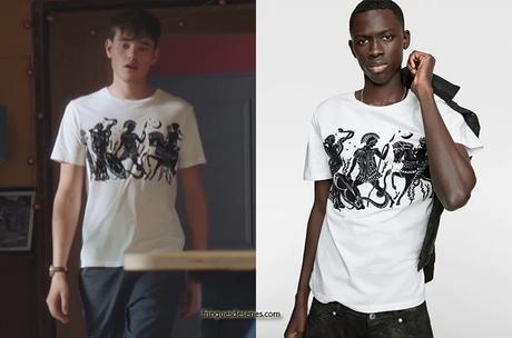 """DEMAIN NOUS APPARTIENT : le t-shirt """"antiquité"""" de Jules dans l'épisode 805"""