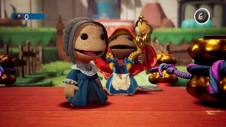Personnage sackboy PS5