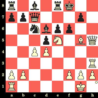 Les Blancs jouent et matent en 4 coups - Edgar Colle vs Victor Soultanbeieff, Liège, 1930