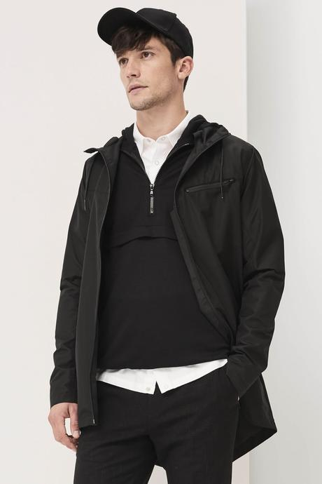 look homme casquette minimaliste