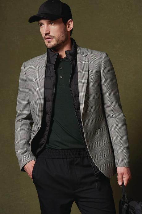 look homme casquette smart casual
