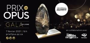 L'attribution du Prix Étoiles Stingray au ténor Marc-Antoine Brûlé et les finalistes lyriques des Prix Opus Année XXIV du Conseil québécois de la  musique