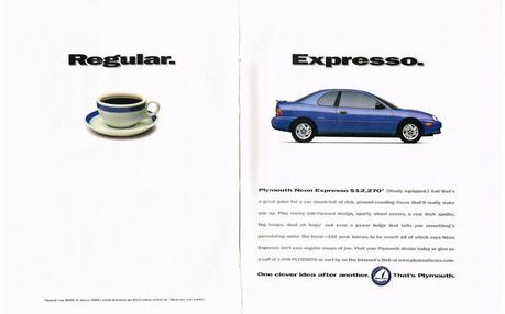 1996 USA PLYMOUTH NEON EXPRESSO