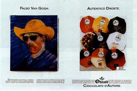 1989 Faux Van Gogh. Vrai Droste A3.