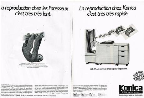 1988 Le Photocopieur Konica U-Bix