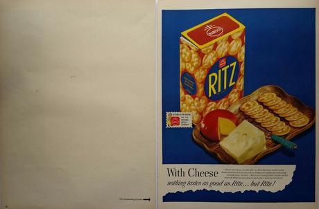 1948 Nabisco Ritz Crackers