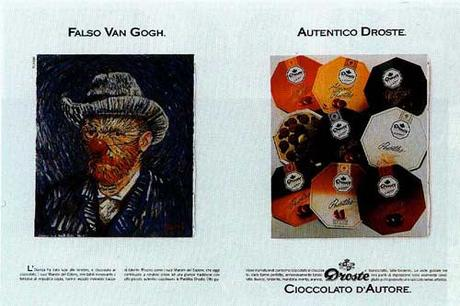 1989 Faux Van Gogh. Vrai Droste A2.
