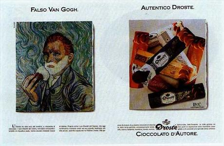 1989 Faux Van Gogh. Vrai Droste A4.