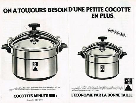 1980 Les Cocottes Minute SEB