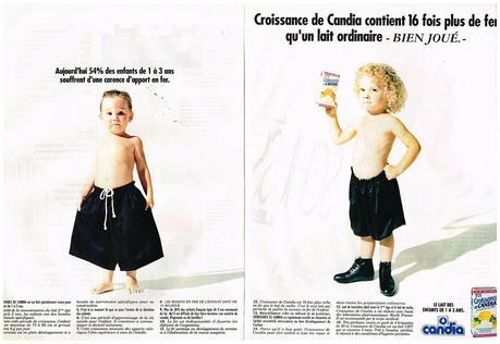 1990 Le lait de Croissance candia