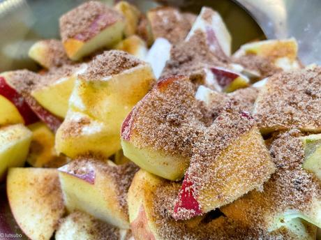 The American way – Crumble gourmand aux pommes